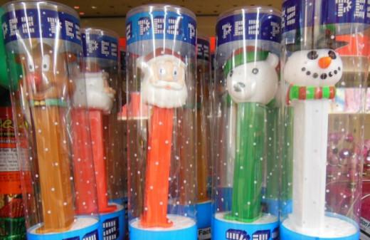 The latest Christmas PEZ include a reindeer, (yet again) updated Santa and snowman, plus a fun polar bear.
