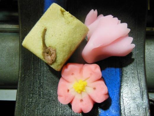 April wagashi