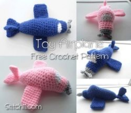 Crochet Airplane Pattern