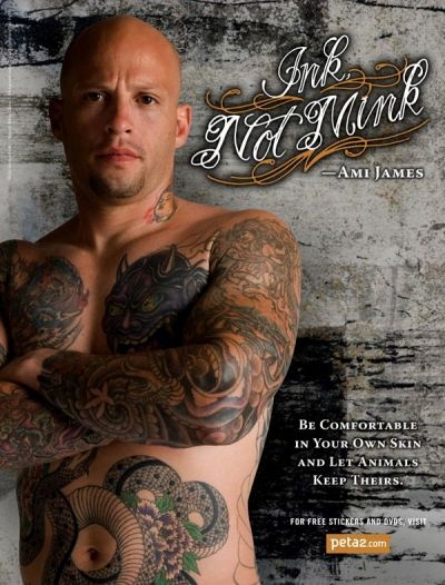 "Ami James from ""Miami Ink"""