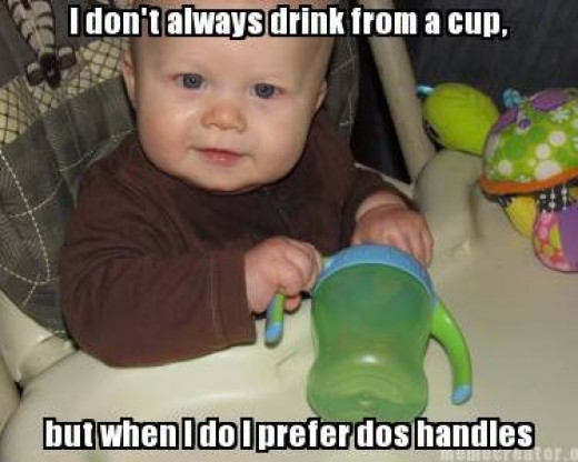 sippy cup baby