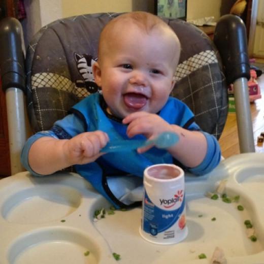 Self Feeding Yogurt