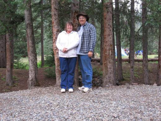 My parents enjoying life together