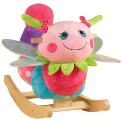 The photo shows the Rockabye Darla Dragonfly Rocker, and is cropped from an image on Amazon