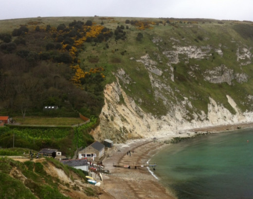 greensand at lulworth cove