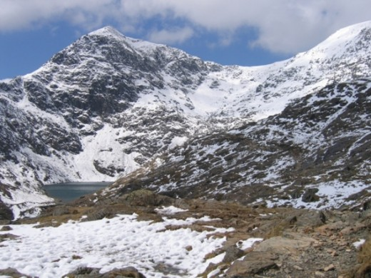 Snowdon, from the Pyg Track