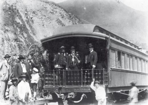 Eloy Alfaro Delgado in 1908