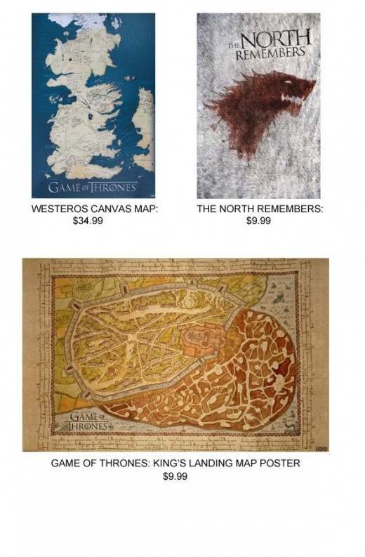 Game of Thrones Posters on HBO