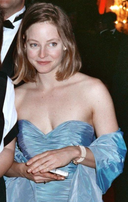 Foster at the 61st Academy Awards Governor's Ball on March 29, 1989. She won the Academy Award for Best Actress for The Accused