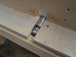 Shop made wood working edge jointer