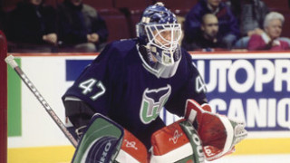 Giguère with the Hartford Whalers