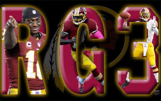 Washington Redskins QB Robert Griffin III