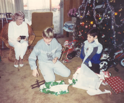 As it turned out, this was Jason's last Christmas. No one could have guessed he would die in an accident the next August.