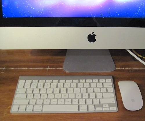 Keyboard and Magic Mouse for I-MAC