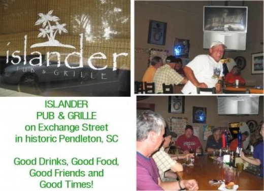 Friends gather at The Islander