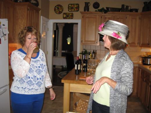 Liz, how is your mint julep?