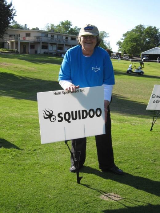 Squidoo Hole Sponsor