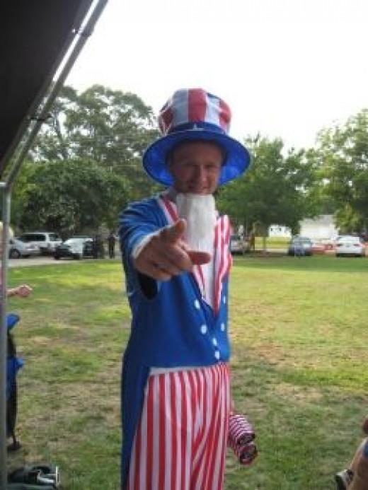 Freedom Fest Uncle Sam