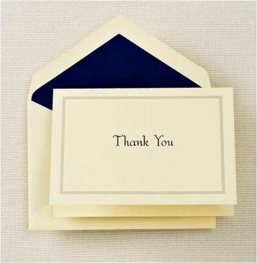 Thank you notes are nearly extinct, but very much appreciated by human resource managers. Don't be complacent and only send a thank you email.