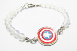 How to Make a Captain America Shield Bracelet