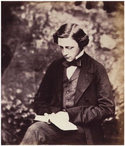 Charles Lutwidge Dodgson AKA Lewis Carroll.