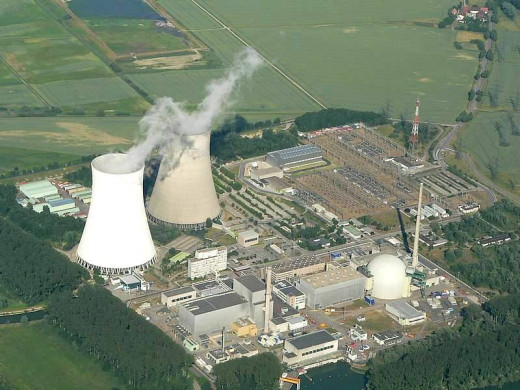 The Philippsburg nuclear power plant, in Germany.