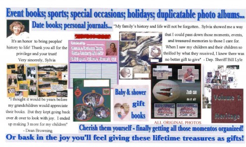Here are a few testimonies as proof of how well your books will be received