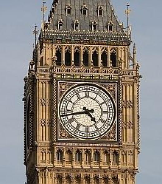 Big Ben: Detail
