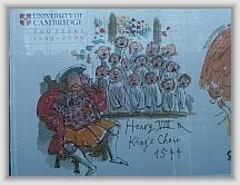 Henry VIII and Kings Choir