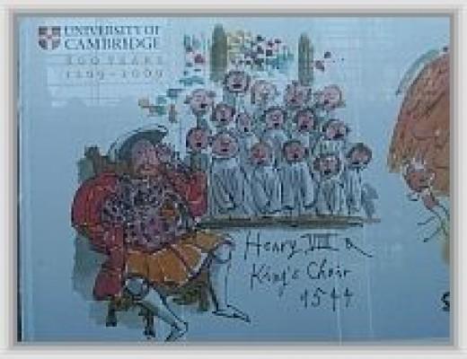 Henry VIII and Kings Choir