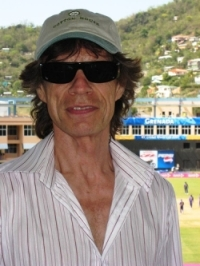 mick jagger cricket rock stars gone good