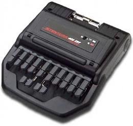 Court reporting steno machine.