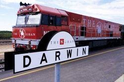 Ghan Train Darwin
