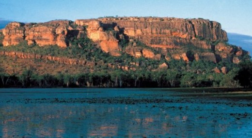 kakadu UNESCO Area