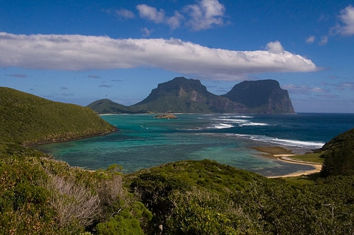 UNESCO Area Lord Howe Island