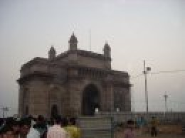 Gateway to India was much smaller than I thought it would be