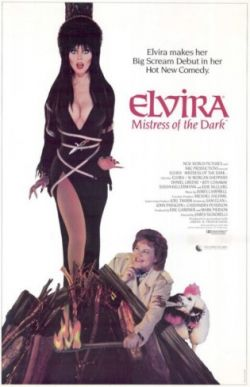 Elvira movie poster