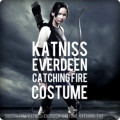Katniss Everdeen Catching Fire Costume and Makeup