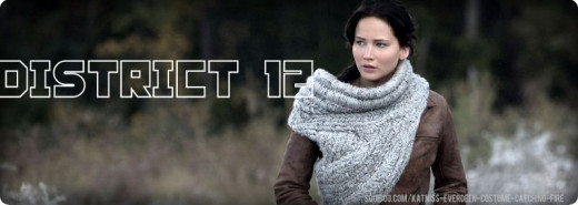 Katniss Everdeen District 12 Costume
