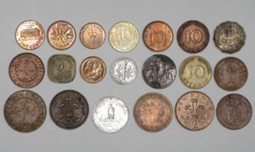 A Small Coin Collection