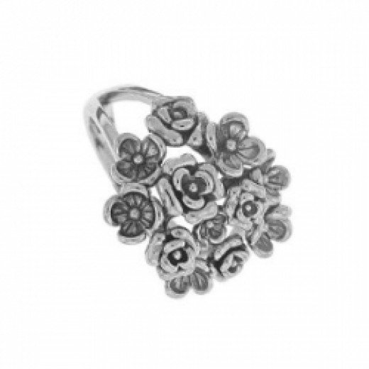 Boma Sterling Silver Bouquet Ring