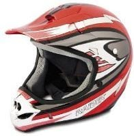 Raider MX-3 Silver Large Youth Off-Road Helmet