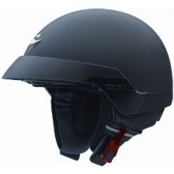 Scorpion EXO-100 Solid Matte Black Medium Open Face Helmet