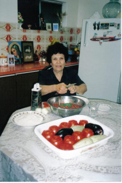 Old-fashioned cooking with meals that are nourishing, satisfying and delicious. Just like her mother and grandmother, she created the wonderful village recipes she learnt as a young girl in Mesanagros.