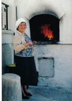 The food of her village is a part of her tradition and identity.