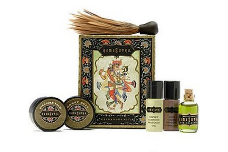 sensual massage oil kit