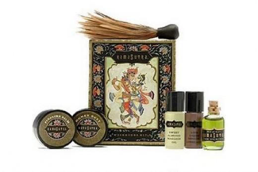 sensual massage oil kit