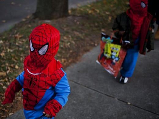 Halloween Sidewalk