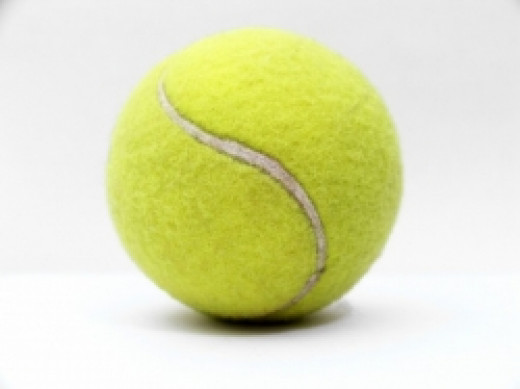 tennis ball for foot massage