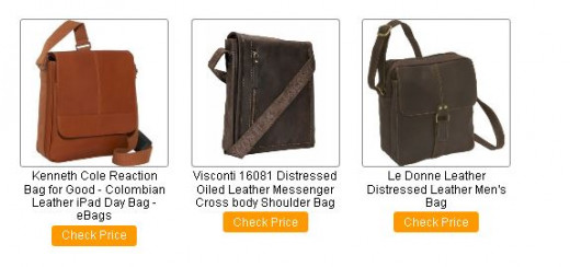iPad Leather Messenger Bags